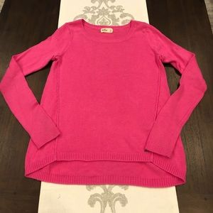 Hollister large pink sweater